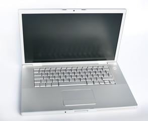 Modern metallic laptop