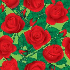 Rose seamless