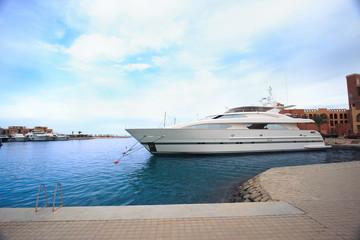 Luxury yachts at El Gouna