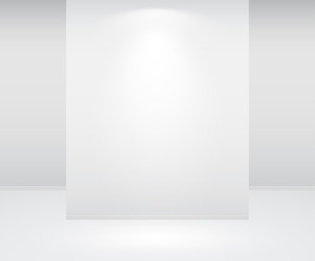 empty wall and lights