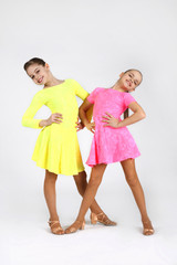 Little dancer girls