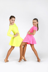 Little dancer girls