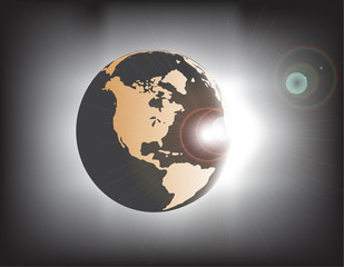 Earth eclipse