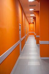 Perspective of a corridor