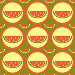 cute melon pattern