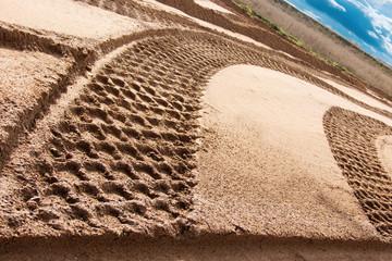Road  process  building  track