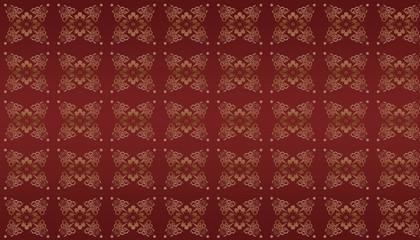 roter damast hintergrund mustertapete antik edel rot gold