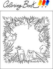 Coloring Book - Jungle