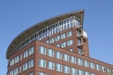 modernes Bürogebäude in Hamburg