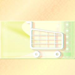 einkaufsgutschein blank - pastell