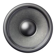 speaker diaphragm cone isolated