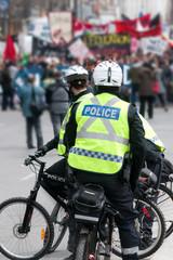 Protest-riot