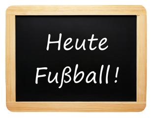 Heute Fußball ! - Freizeit Konzept - freigestellt