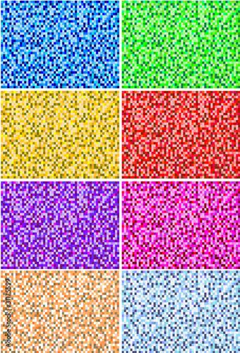 Fondo con textura de mosaico de colores im genes de archivo y vectores libres de derechos en - Mosaico de colores ...