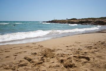 Fototapete - Sicilia-spiaggia dell'isola delle correnti