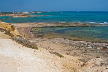 Fototapete - Sicilia-spiaggia di Eloro
