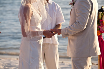 wedding ring exchange love