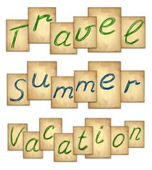 Travel text set