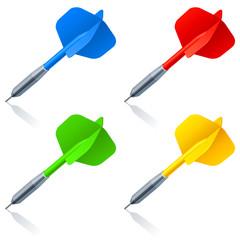 Color darts.