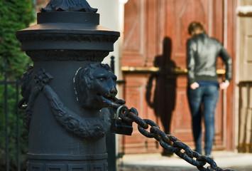 Old Riga scene
