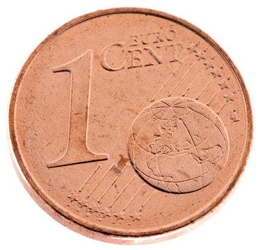 pièce de 1 cent d'euro