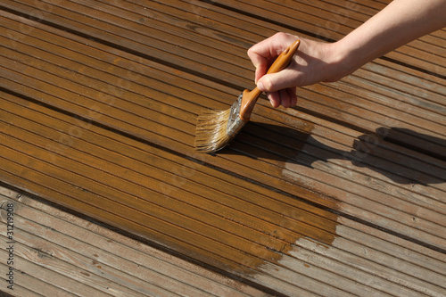 Terrassendielen Stock Photo And Royalty Free Images On Fotolia Com