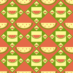 cute melon pattern
