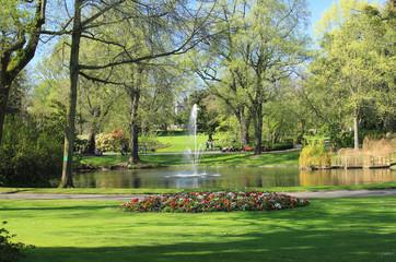 Jardin des plantes - Nantes Fotomurales
