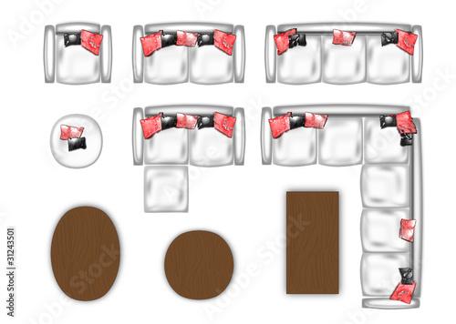 couch floor plan\