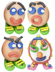 Cool toy Easter eggs set