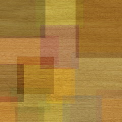 Wood and squares
