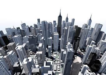 3D cityscape model