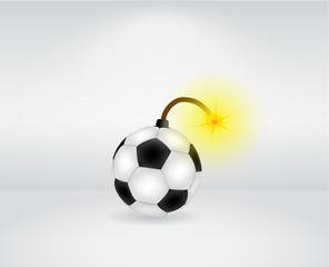 Ball bomb illustration