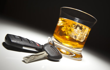 Printed roller blinds Alcohol Alcoholic Drink and Car Keys