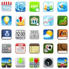 Phone web icons
