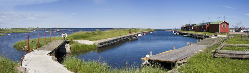 alter fischereihafen in schweden