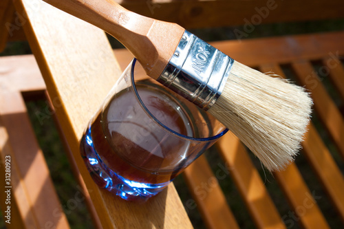 traiter le bois l 39 huile stockfotos und lizenzfreie bilder auf bild 31280923. Black Bedroom Furniture Sets. Home Design Ideas