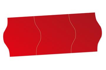 Preisschilder Preisschild Preis schild - rot