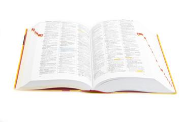book white paper reading objekt