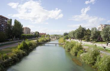 Il fiume Bernesga, Leon