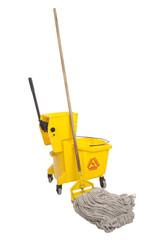 Industrial Mop and bucket