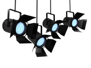 3d Studio lights facing right