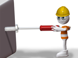 Ziggy Zeitgeist´s screwdriver