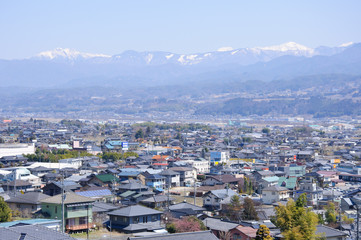 Ina Basin and the Southern Japan Alps