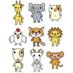 動物人形1