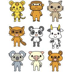 動物人形3