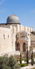 The mosque of Al-aqsa (The mosque of Omar)