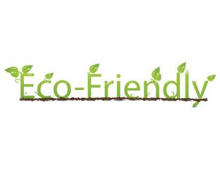 Eco Friendly Text