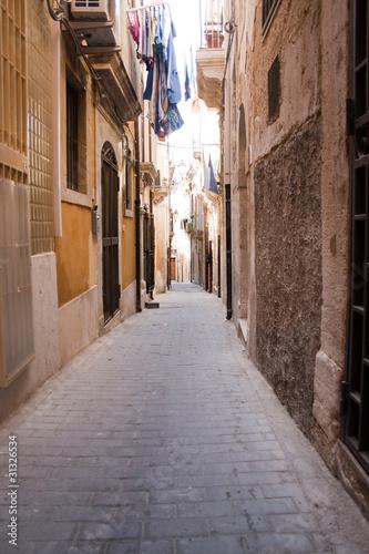 Fototapete Sicilia-vicolo di Siracusa