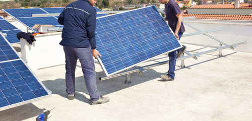 Banner fotovoltaico